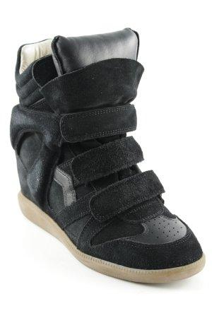 """Isabel Marant Étoile Keil-Stiefeletten """"Bekett Sneaker Suede Black 37"""""""