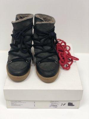 Isabel Marant Etoile Nobles Gr. 41 Schuhe Lammfell Futter