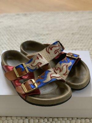 Isabel Marant Étoile Comfortabele sandalen veelkleurig Leer