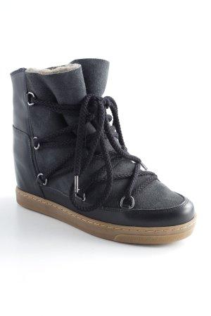 "Isabel Marant Étoile Snow Boots ""Nowles Snow Ankle Boots Black"""