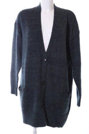 Isabel Marant Étoile Strickmantel blau-schwarz Casual-Look