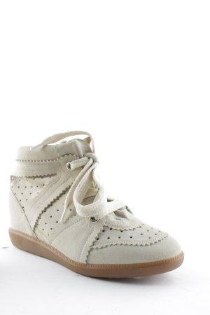"""Isabel Marant Étoile Sneaker con zeppa """"Bobby Sneakers Chalk 37"""""""