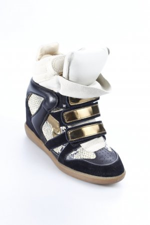Isabel Marant High Top Sneaker Animalmuster sportlicher Stil