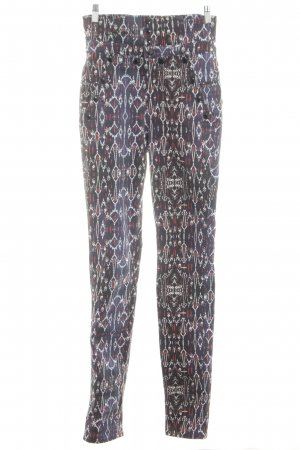 Isabel Marant High-Waist Hose abstraktes Muster Casual-Look