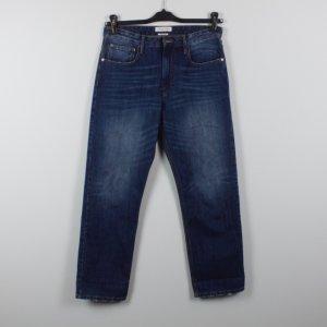 Isabel Marant Étoile Hoge taille jeans blauw Katoen