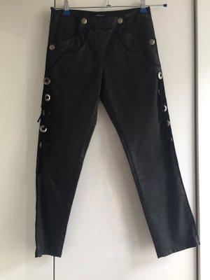 Isabel Marant Pantalone a 3/4 nero Tessuto misto
