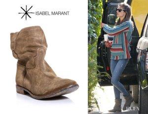 Isabel Marant Jenny Boots Gr. 40 Beige