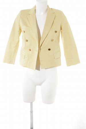 Isabel Marant Jerseyblazer blassgelb Business-Look