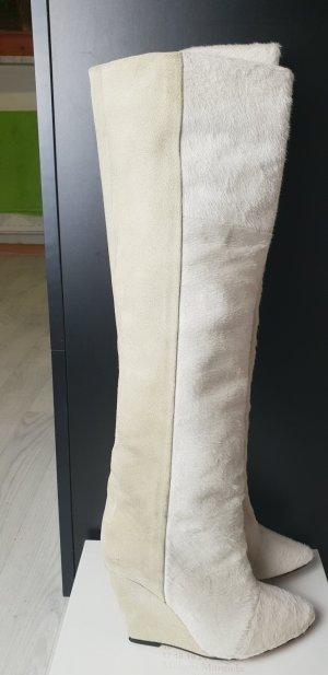 Isabel Marant Kalbsleder Pony-Optik Stiefel Gr. 36