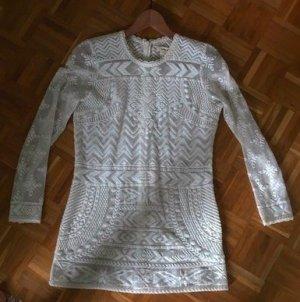 Isabel Marant Kleid, Bluse aus Spitze Gr 38