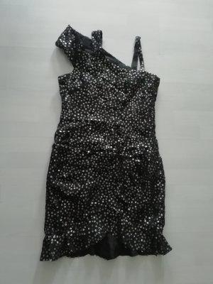 Isabel Marant Kleid Pailletten Sequin Minikleid Cocktailkleid Dress Party