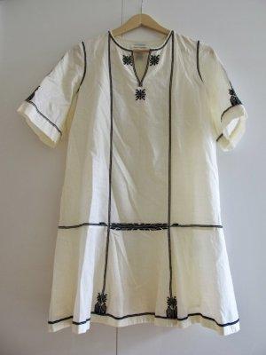 ISABEL MARANT Kleid Tunika 38 M creme weiß A-Linie Boho Blogger