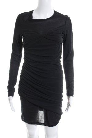 Isabel Marant Langarmkleid schwarz schlichter Stil