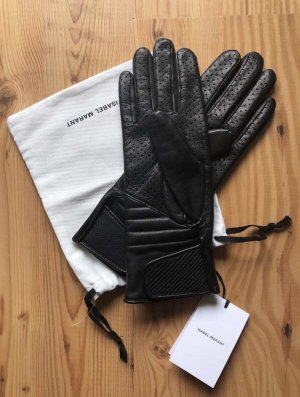 Isabel Marant Leather Gloves black