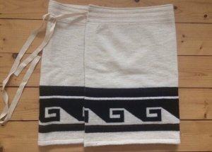 Isabel Marant Minirock Wickelrock Wolle Muster NEU grafisch Trend Blogger