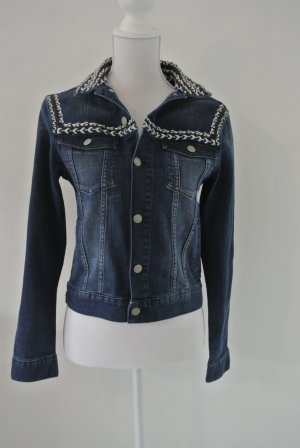 Isabel Marant pour H&M bestickte Jeansjacke