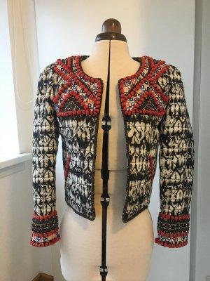 ISABEL MARANT pour H&M Boucle-Jacke Ethno-Stil - NEU -