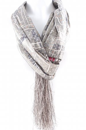 Isabel Marant pour H&M Fransenschal abstraktes Muster Antik-Look