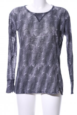Isabel Marant pour H&M Longsleeve abstraktes Muster Casual-Look