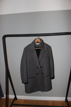Isabel Marant pour H&M Frock Coat anthracite cotton