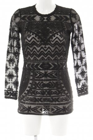 Isabel Marant pour H&M Rundhalspullover schwarz Casual-Look