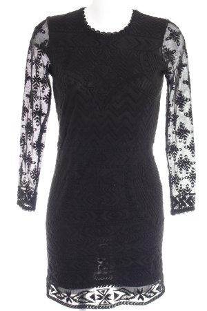 Isabel Marant pour H&M Strickkleid schwarz Elegant