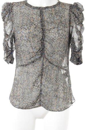 Isabel Marant pour H&M Transparante blouse gestippeld patroon elegant