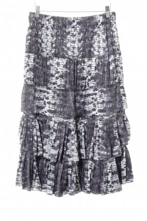 Isabel Marant pour H&M Flounce Skirt animal pattern animal print