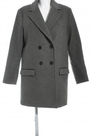 Isabel Marant pour H&M Wool Coat dark grey classic style