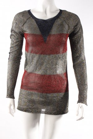Isabel Marant Pullover gestreift transparent