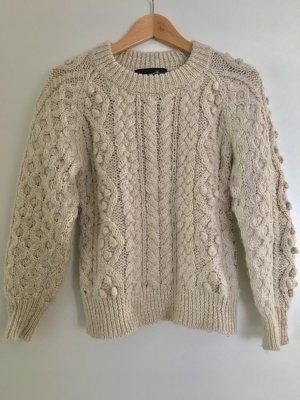 Isabel Marant Pullover Wolle Beige Größe 1