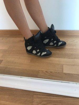 Isabel Marant Scarpa nero-bianco Pelle