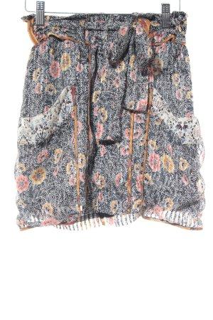 Isabel Marant Seidenrock florales Muster Hippie-Look