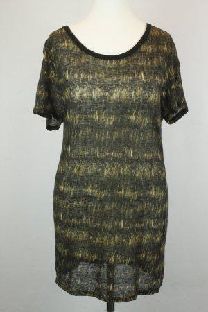 Isabel Marant Shirt T-Shirt Long-Shirt Gr. S schwarz gelb