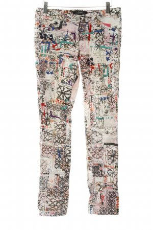 Isabel Marant Skinny Jeans grafisches Muster Boho-Look