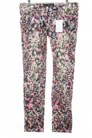 Isabel Marant Slim Jeans abstract pattern extravagant style