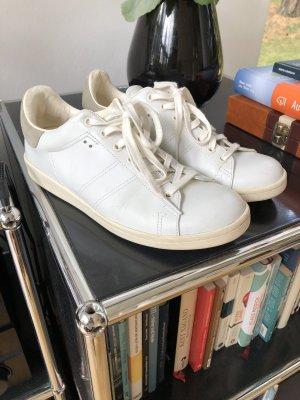 Isabel Marant Sneaker stringata bianco-beige