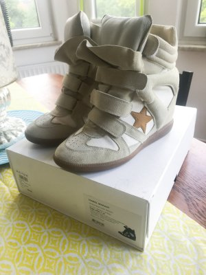 Isabel Marant Sneaker - Americana over Basket Bayley Wedges EU40