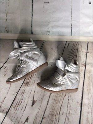 Isabel Marant Sneaker gebraucht 40 Silber ❤️