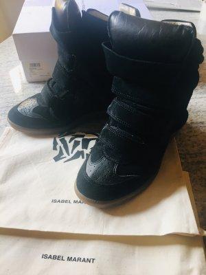 Isabel Marant Sneaker, Gr 39, schwarz