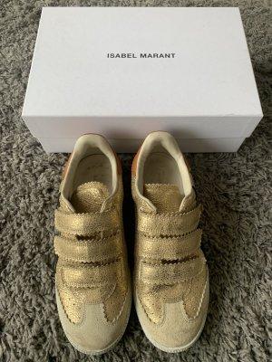 Isabel Marant Basket velcro doré