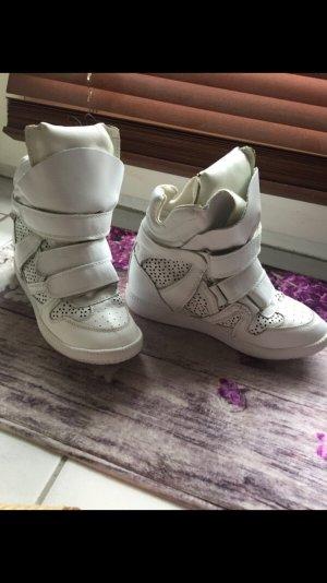 Isabel Marant Sneaker stringata bianco