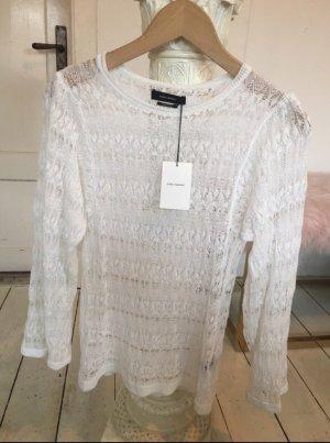 Isabel Marant Gehaakt shirt wit