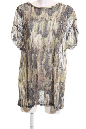 Isabel Marant T-Shirt abstraktes Muster Casual-Look