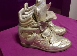 Isabel Marant Traum Sneaker gold used look