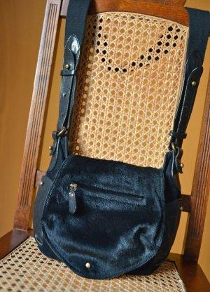 ISABEL MARANT Utkin kleine Tasche Beuteltasche crossbody schwarz Leder
