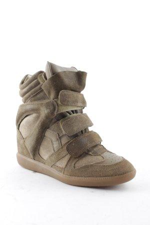 """Isabel Marant Wedge Sneaker """"Bekett Sneaker Suede Taupe 37"""""""