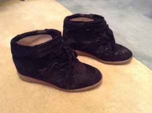 Isabel Marant Wedge Sneakers Schwarz Gr. 41