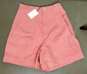 ISABEL MARANT weite Shorts  rosa altrosa Baumwolle Gr 38 M