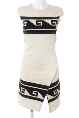 Isabel Marant Vestido de lana estampado con diseño abstracto mullido